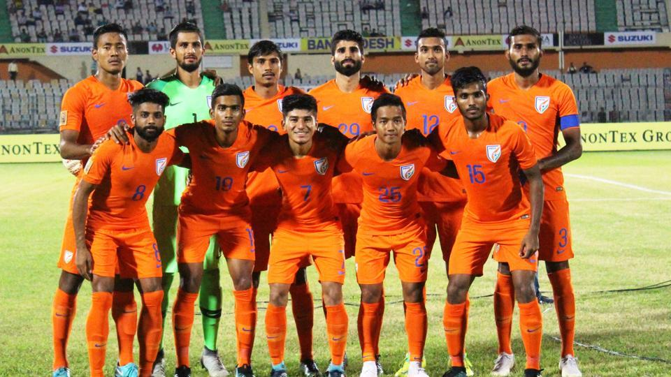 India scored a goal in each half against Sri Lanka in their SAFF Cup.