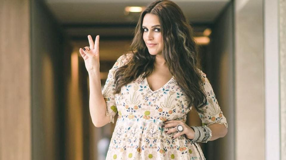 e78baefdf7b3f Pregnant Neha Dhupia will inspire you to update your maternity wardrobe  with her silky maxi dresses and stunning floral frocks. (Instagram)