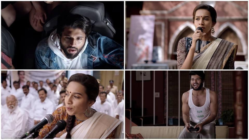 NOTA trailer,NOTA trailer video,Vijay Devarakonda