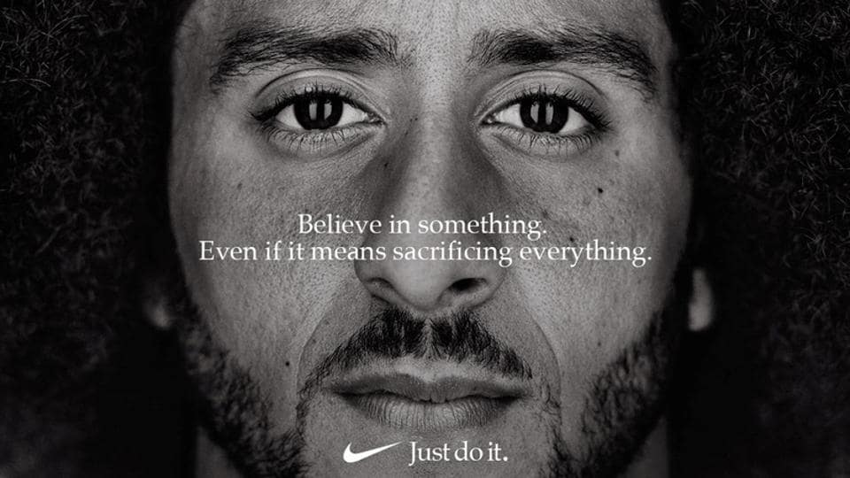 Nike,Colin Kaepernick,Just Do It