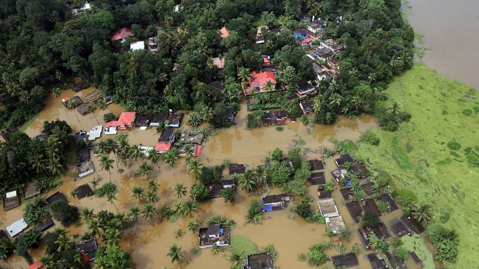 Kerala floods,Climate change,climate change distasters