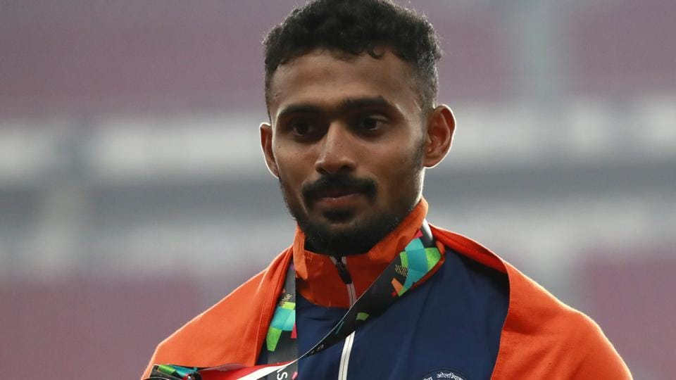 India's Lakshmanan Govindan had won a bronze but was later stripped of the same.