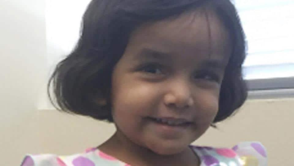 toddler Sherin Mathews,Sherin Mathews murder,India