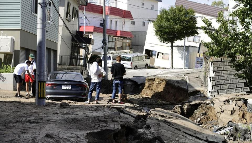 Japan natural disaster : Sapporo rocked by powerful magnitude 6.7 quake