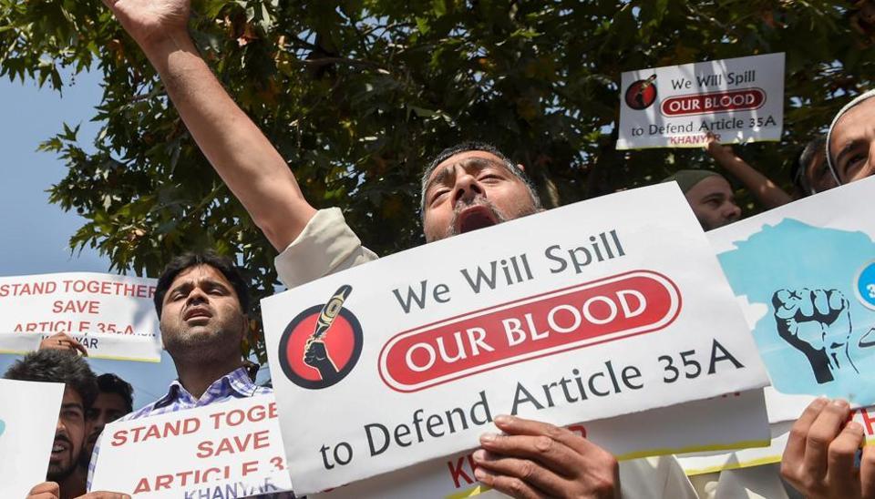 Kashmir,panchayat elections,Article 35A