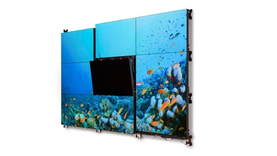 Barco Video Wall,Barco,Barco Video wall Service India