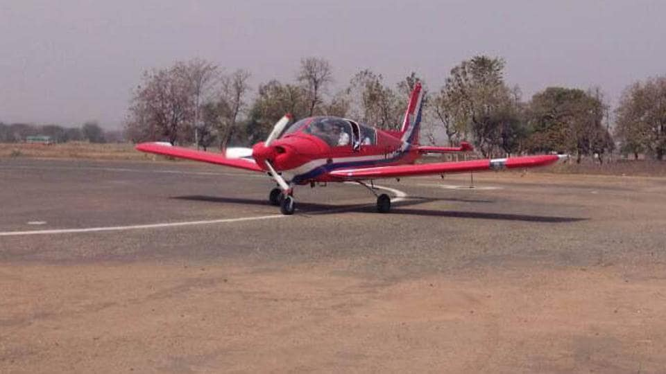 India,two-seater aircraft,flight