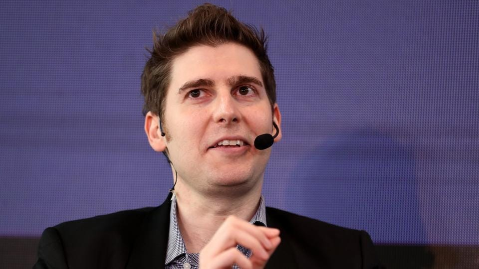 Eduardo Saverin, co-founder and partner of B Capital Group, speaks during the Bloomberg Sooner Than You Think technology summit in Singapore, on Thursday, Sept. 6, 2018. Facebook will weather the current public and regulatory scrutiny, Saverin said. Photographer: Paul Miller/Bloomberg