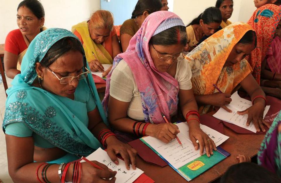 International Literacy Day,Uneducated women,Literacy champs