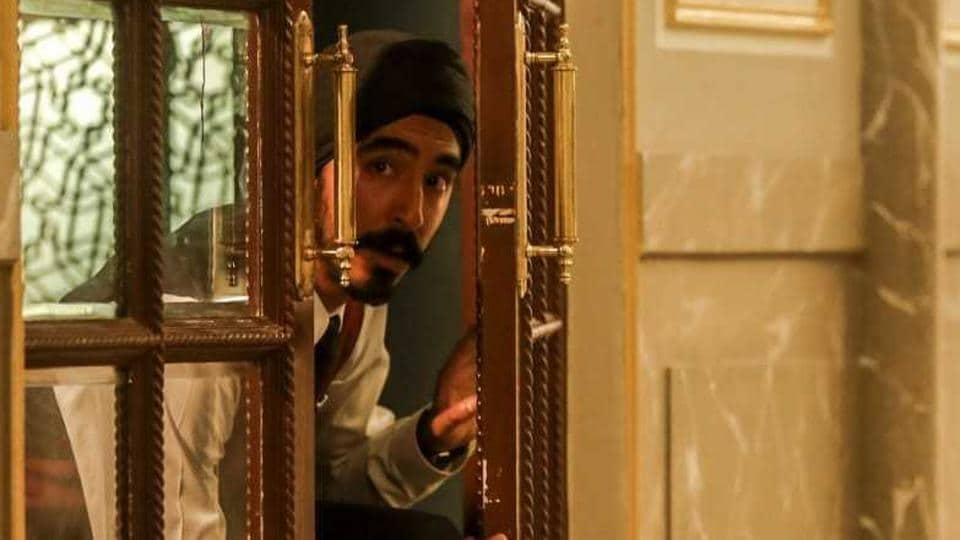 Dev Patel in a still from Hotel Mumbai.
