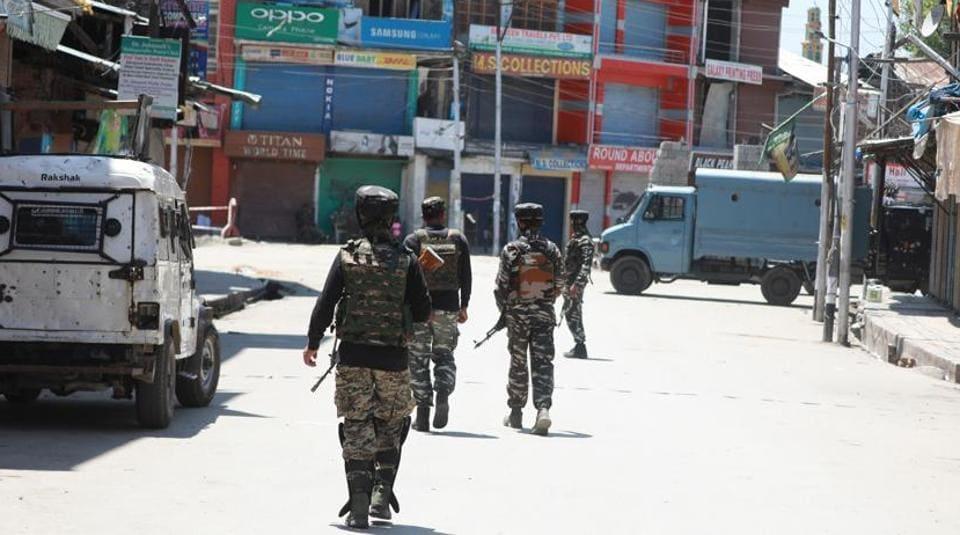 Sopore,Srinagar,Militancy in Kashmir