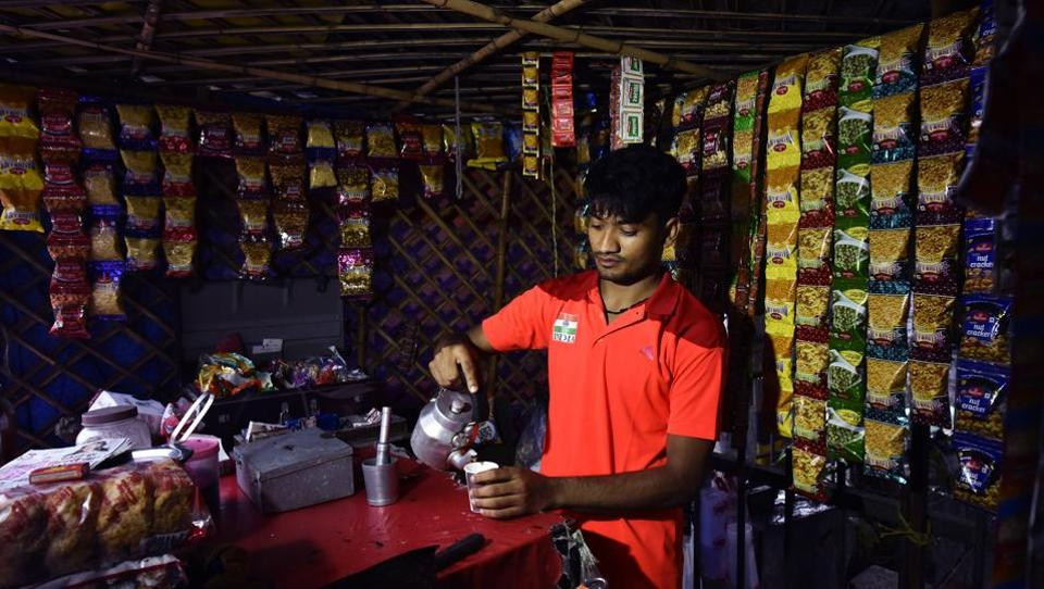 The Indian contingent finished the 2018 Asian Games with its best ever display, clinching 69 medals which included 15 gold wins. Among the winners was Harish Kumar, who won bronze in Sepak takraw (kick volleyball). Back from the games, Harish has resumed his day job at his father's tea stall in Delhi's Majnu ka Tilla. (Vipin Kumar / HT Photo)