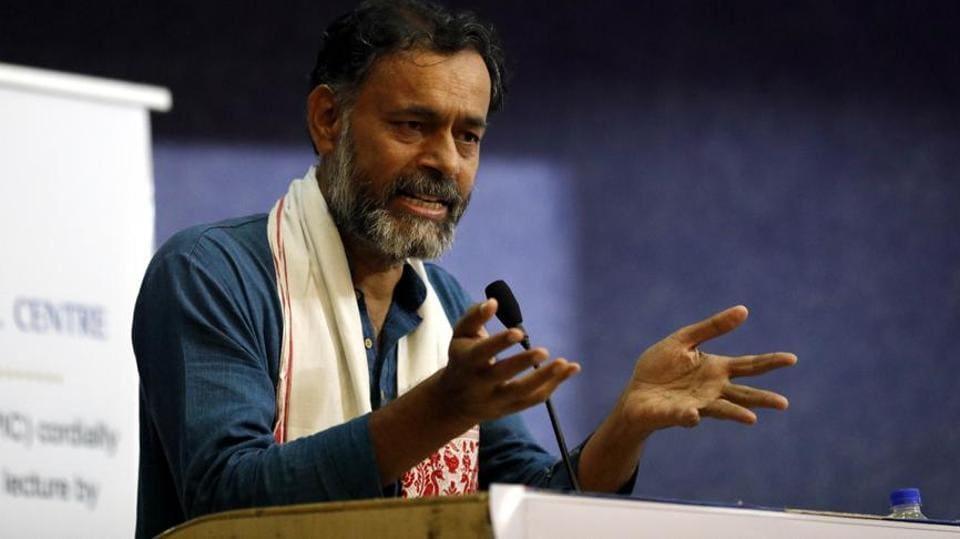 Yogendra Yadav,Tamil Nadu,Yogendra Yadav detained