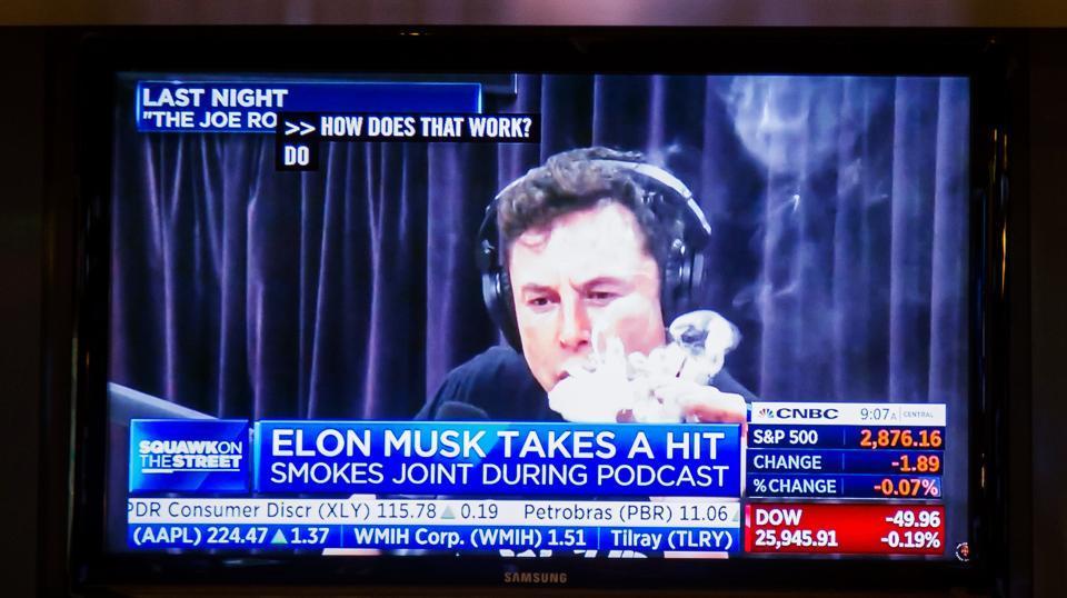 Tesla,Elon Musk,Elon Musk smokes week