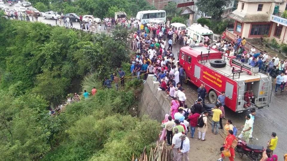 Bus accidents,HRTC