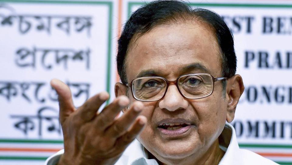 P Chidambaram,BJP,Congress