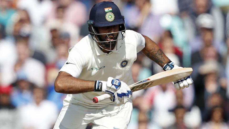 India vs England: Hanuma Vihari scores fifty on debut to ...