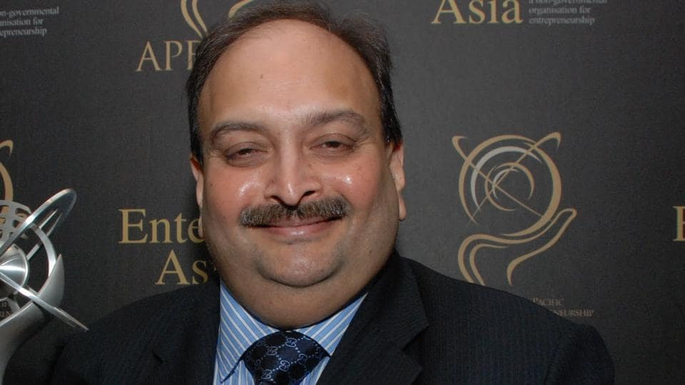 Mehul Choksi (in picture) and his nephew and fellow diamond merchant Nirav Modi have been accused of defrauding the state-owned Punjab National Bank (PNB) to the tune of Rs 13,500 crore.