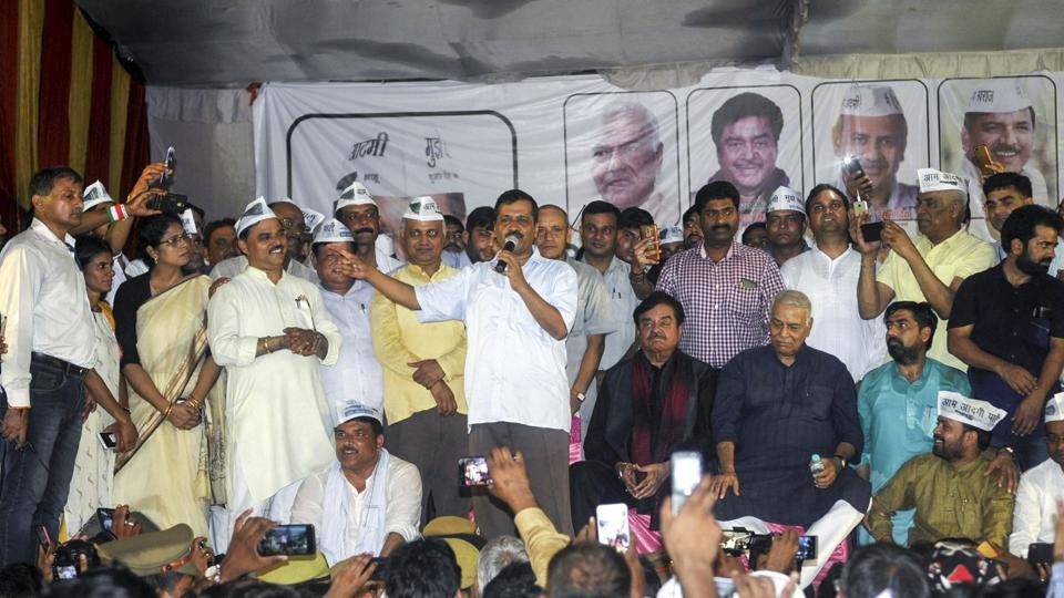 Yashwant Sinha,Shatrughan Sinha,Aam Aadmi Party