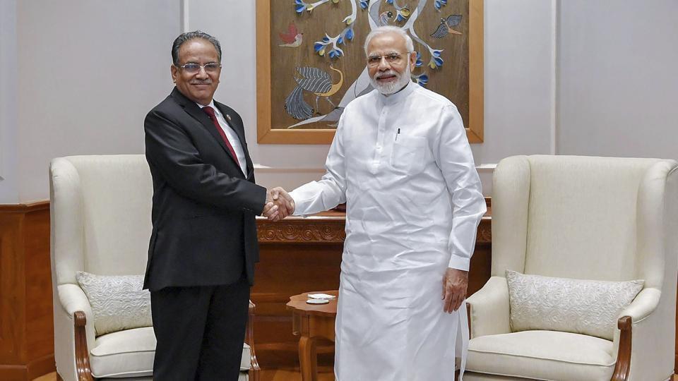 Prachanda,India-Nepal ties,China