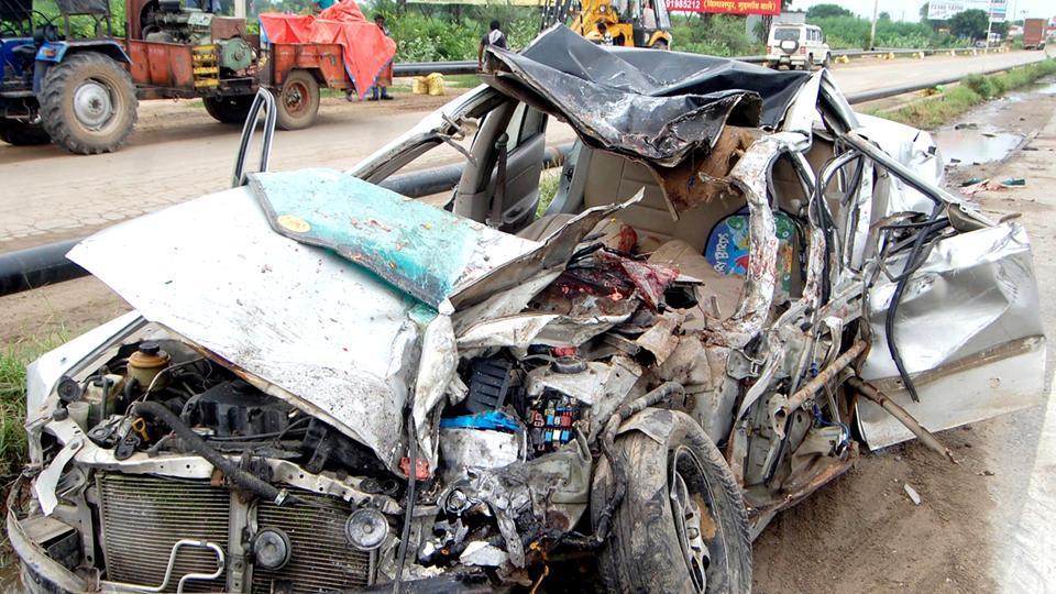 Rewari,Rewari accident,Road accident