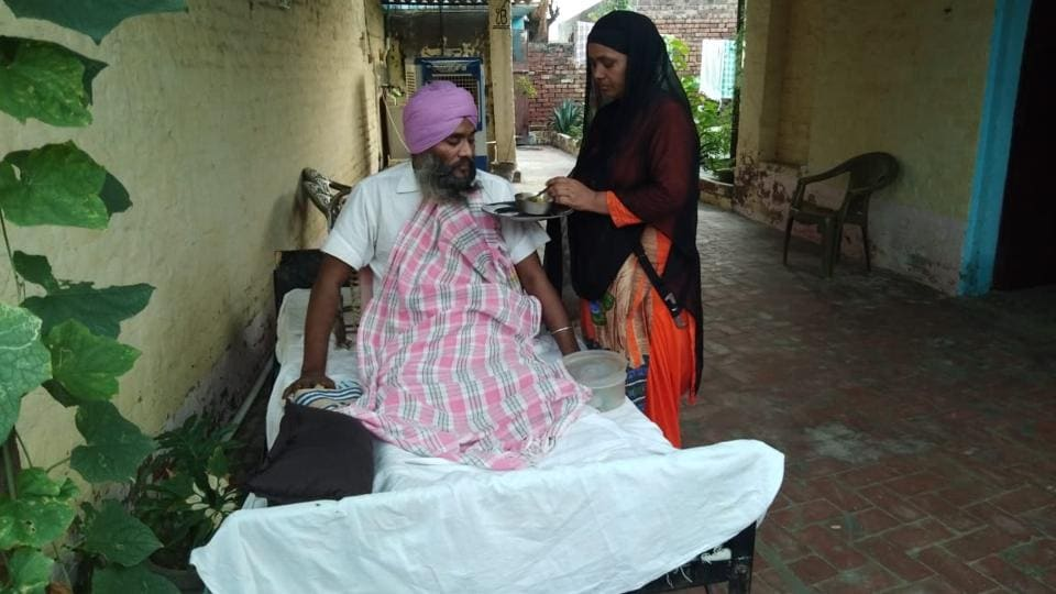 Former ITBP sepoy Nirbhay Singh was rendered paralysed from the waist down due to a spine injury in 2001 after terrorists attacked their post in J&K.