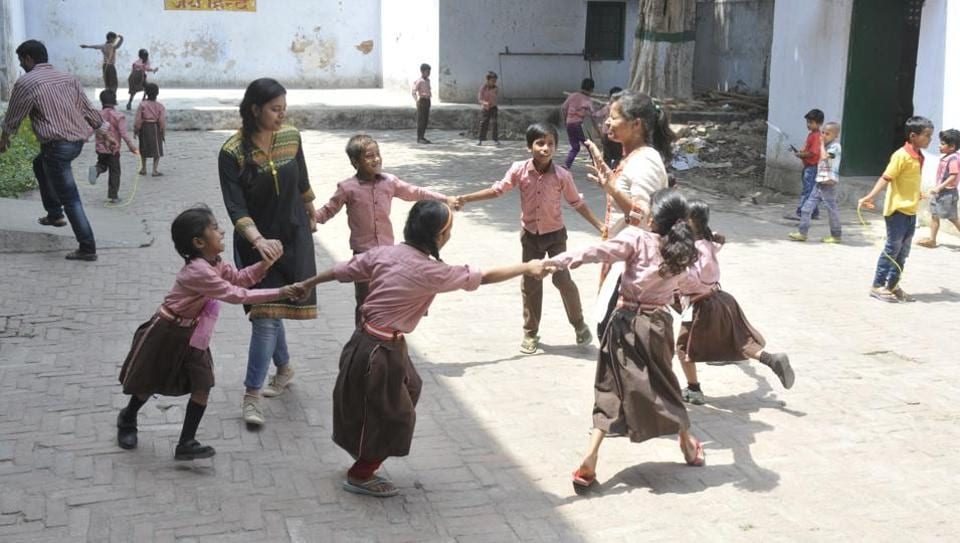 Lucknow,Spreading smiles,Joyful learning