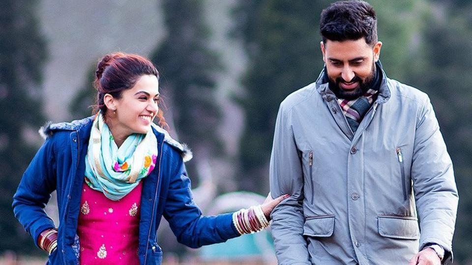 Image result for Abhishek Bachchan, Taapsee Pannu