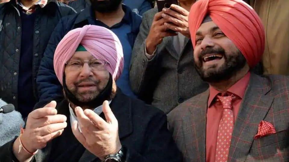 Amarinder Singh,Navjot Singh Sidhu,Kartarpur corridor