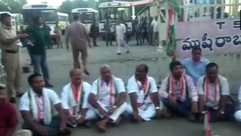 Bharat Bandh,Bharat Bandh Telangana,Bharat Bandh Andhra Pradesh