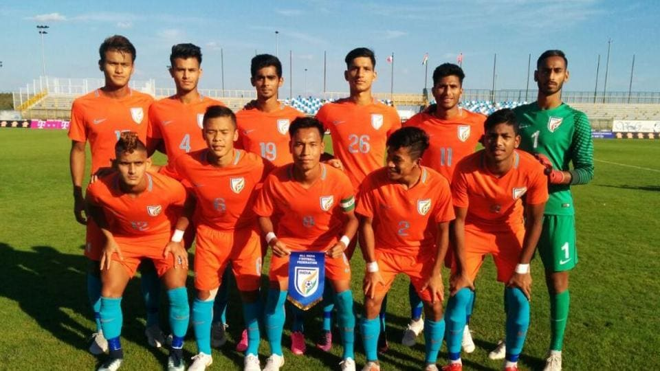 India U-19 football team,U-19 four-nation tournament,Aniket Jadhav