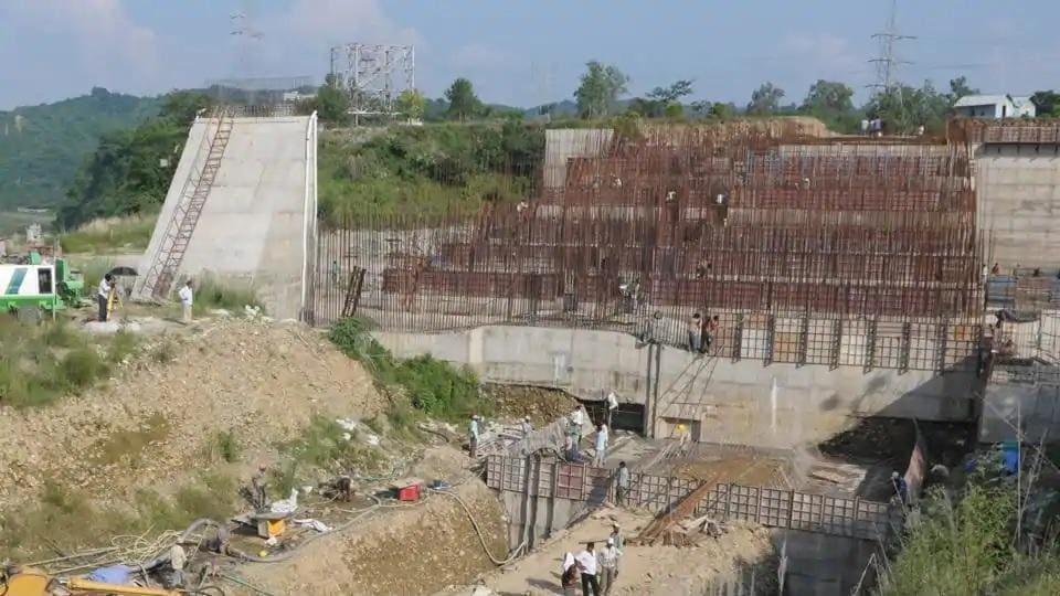 Shahpur Kandi dam,Punjab,PSPCL