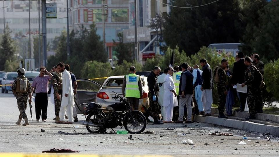 Afghanistan attack,Taliban attack security forces