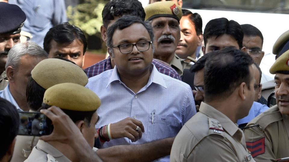 Karti Chidambaram,P Chidambaram,Karti Chidambaram's interim relief