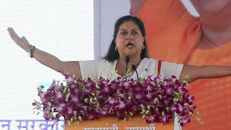 rajasthan assembly elections 2018,rajasthan polls,vasundhara raje
