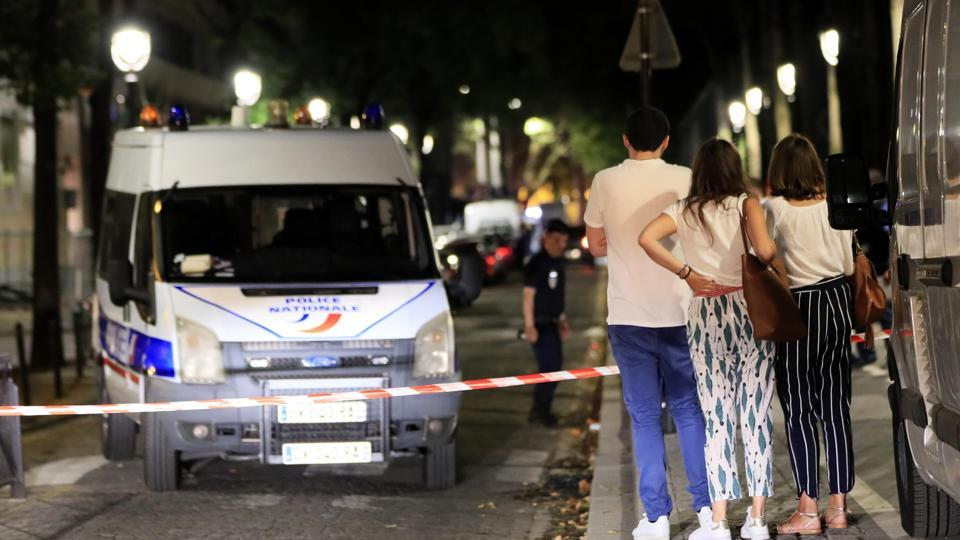 Knife attack,Paris,France