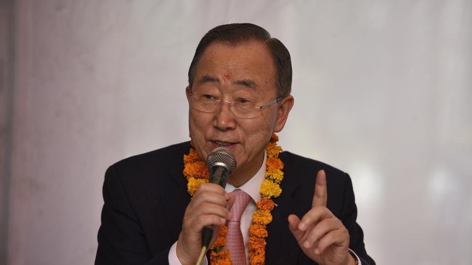 Ban ki moon,bill gates,climate body