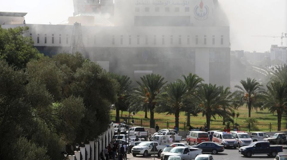Libya,Libya oil company attack,Libya National Oil company