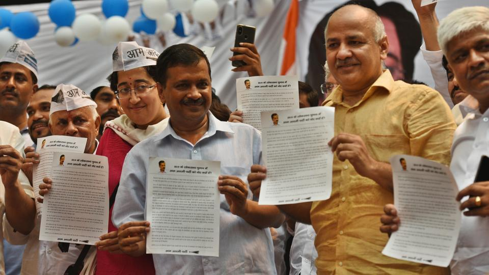 Election Commission,AAP,Electoral funding