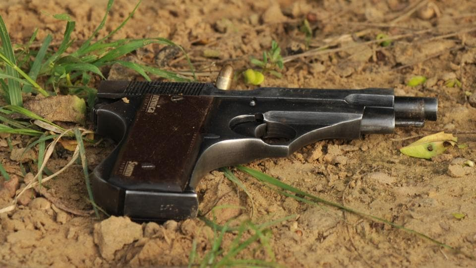 girl shoots herself,Gwalior,Russian roulette