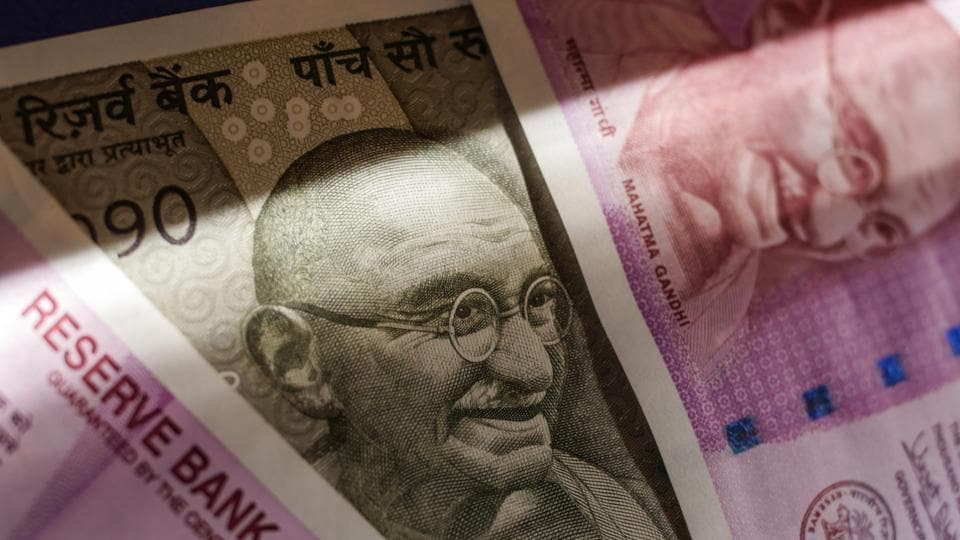 falling rupee,rupee against dollar,rupee slide