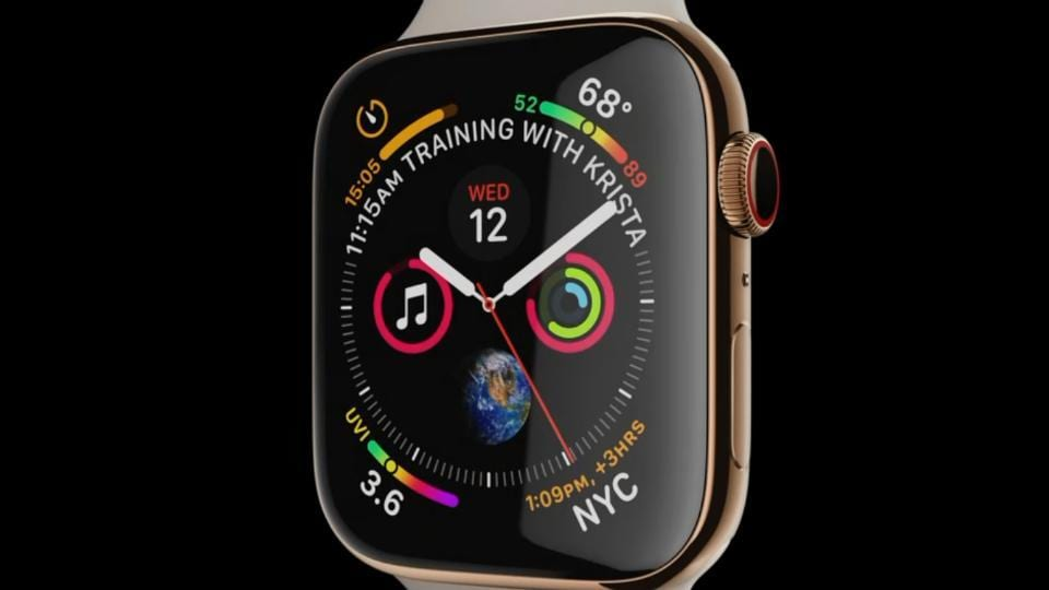 81892e960d Apple Watch Series 4 launched with ECG compatibility, new design ...