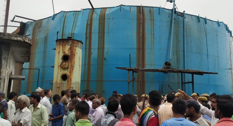 Bijnor gas leak,UP gas leak,chemical factory gas leak