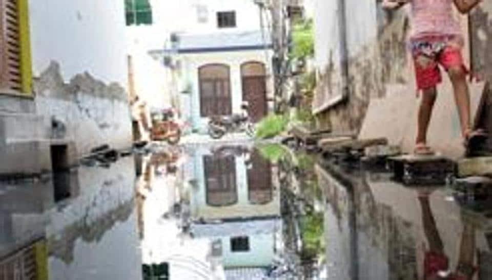 Palam Vihar,sewage,Manohar Lal Khattar