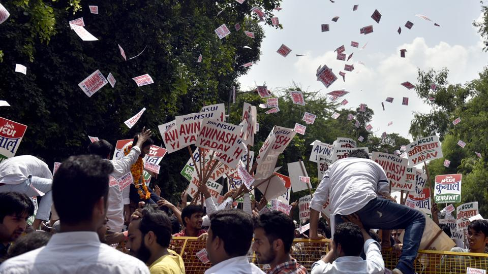 DUSU Election,DUSU Election 2018,Delhi University