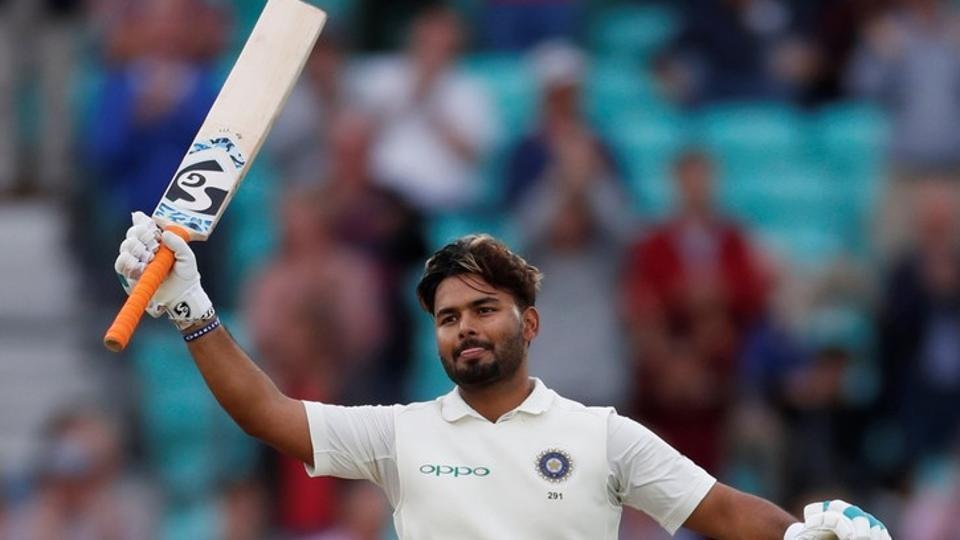 Pant slammed his maiden century in the fifth Test