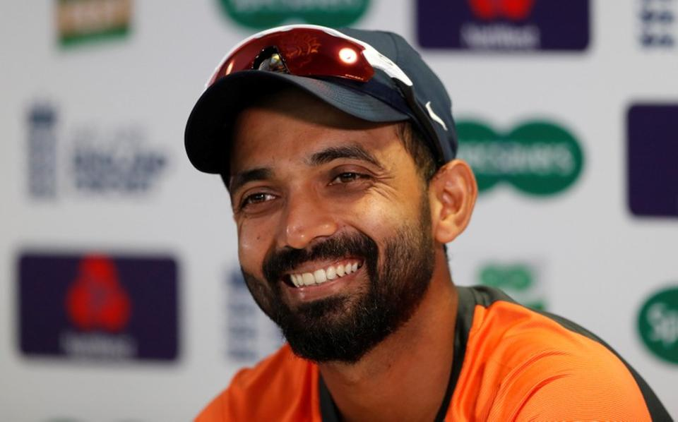 Rahane is not part of the Indian squad for the upcoming Asia Cup