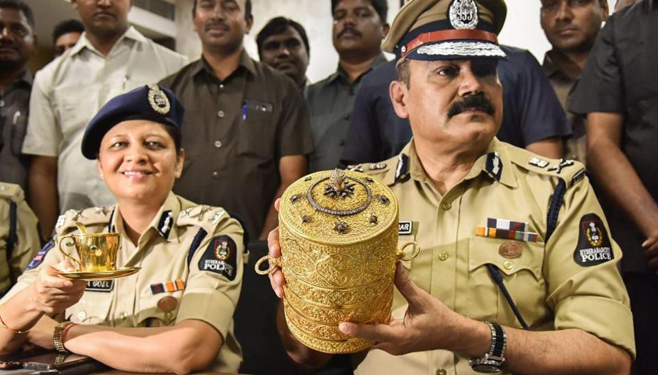 Hyderabad nizam,Nizam artefacts stolen,Golden tiffin box