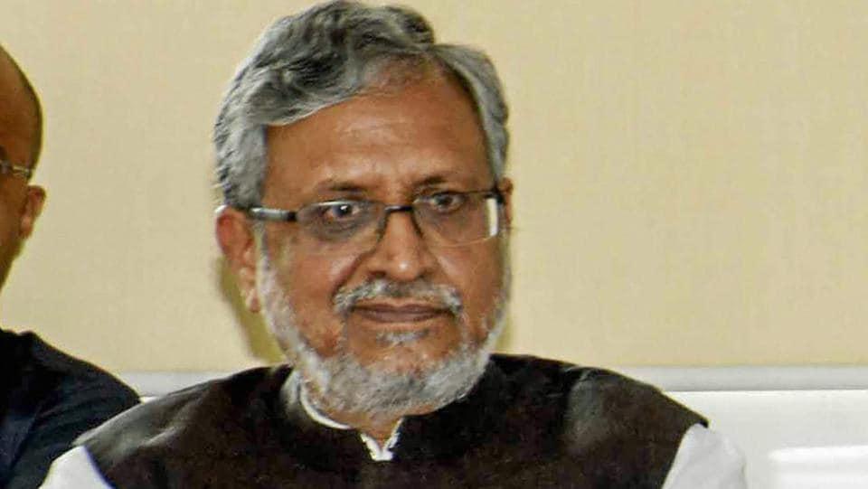2019 Lok Sabha election,Sushil Kumar Modi,Grand Alliance
