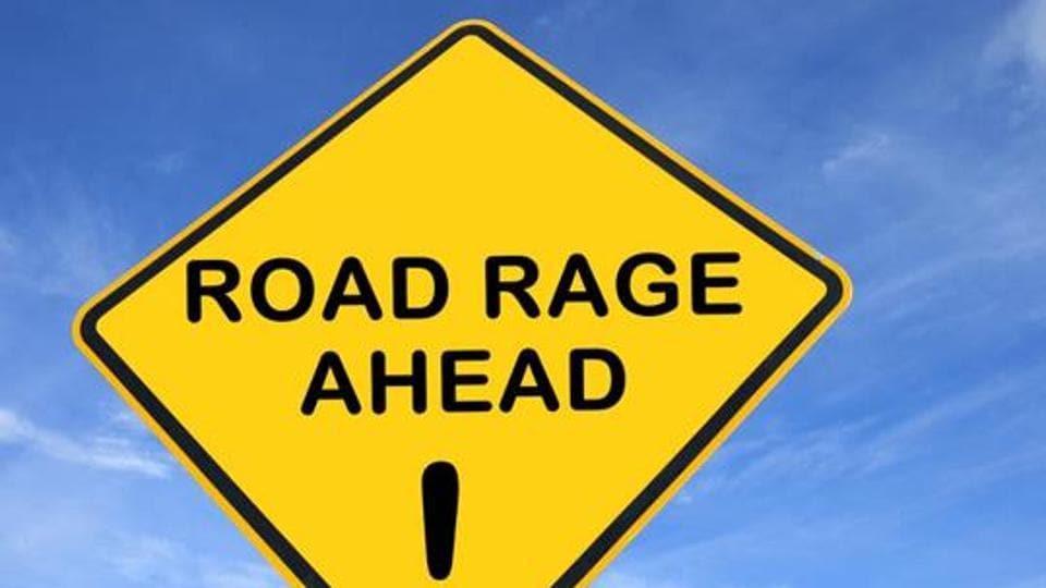 school bus,road rage